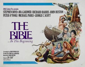"Афиша фильма ""The Bible...In the Beginning"" (1966)"