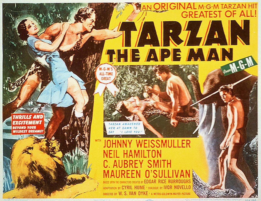 "Tarzan the Ape Man"" (Тарзан — человек-обезьяна) (1932)"